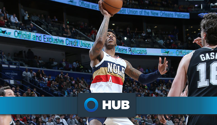 a4706f086 Pelicans shootaround update presented by HUB International  Elfrid Payton  returns to action in Indiana