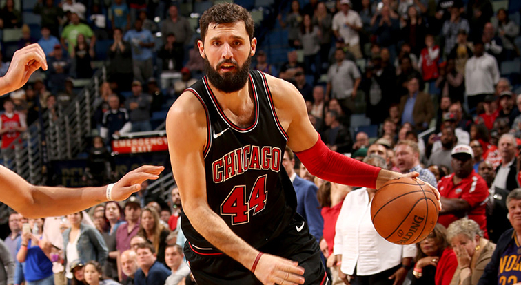 Pelicans trade for Nicola Mirotic, send Asik to Chicago