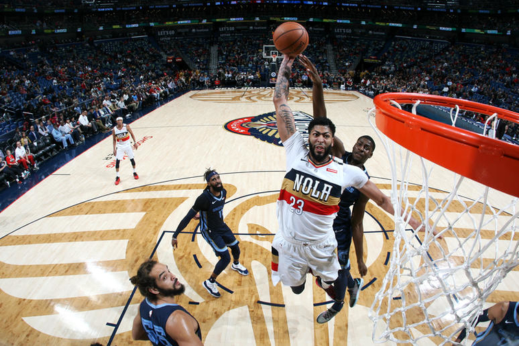 Image result for anthony davis new orleans 2019