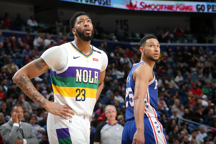 1e27b2b3504 Game 62  Pelicans vs. 76ers Postgame Quotes 2-25-19