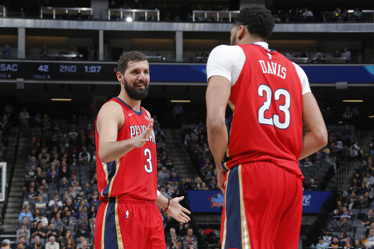 New Orleans Pelicans v Sacramento Kings