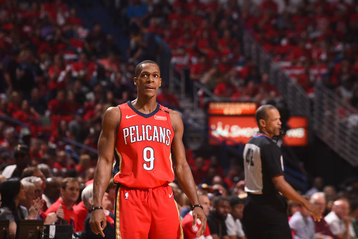 008bc5424 2017-18 Pelicans Season in Review  Rajon Rondo