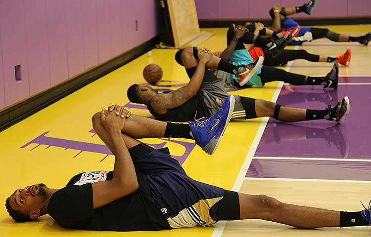 Pelicans Voluntary Workouts