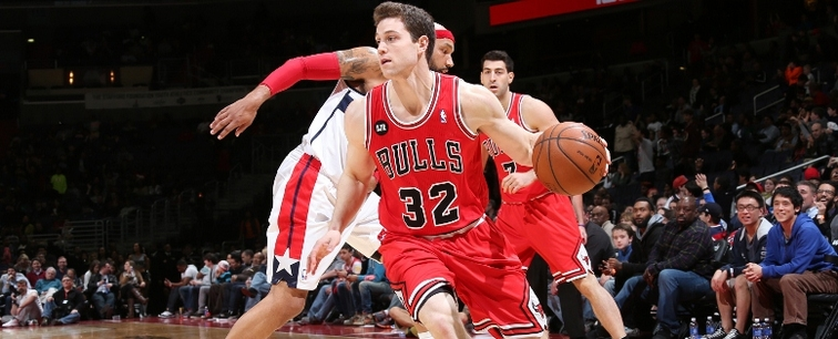 New Pelicans addition Jimmer Fredette drives against the Wizards last season