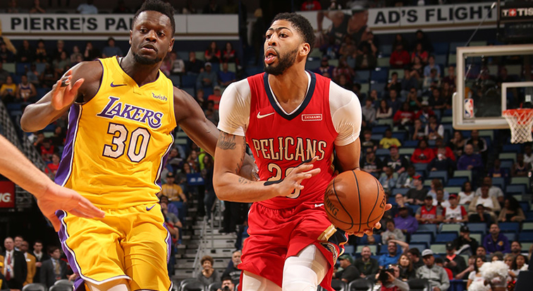 New Orleans Pelicans trounce Lakers behind Anthony Davis' 42