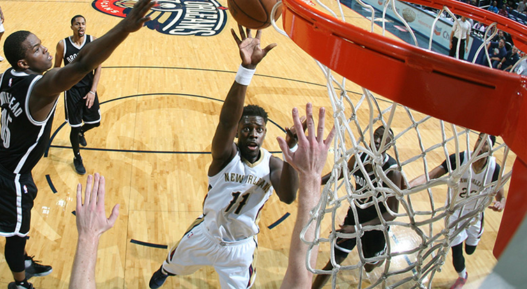 Rondo hands Pelicans win over Nets, 128-113