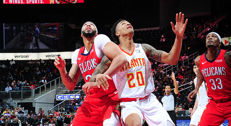 Exhausted legs, second-half slump doom Pelicans in loss to Hawks