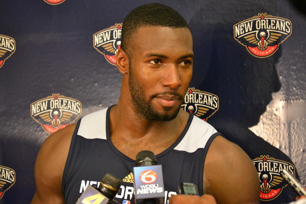 Pelicans Center Patric Young