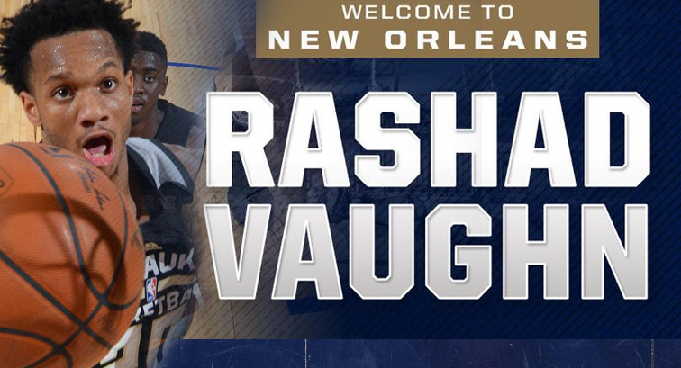 Pelicans trade Dante Cunningham to Brooklyn for Rashad Vaughn
