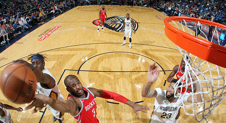 Rockets Match Last Season's Win Total With Win Over Pelicans