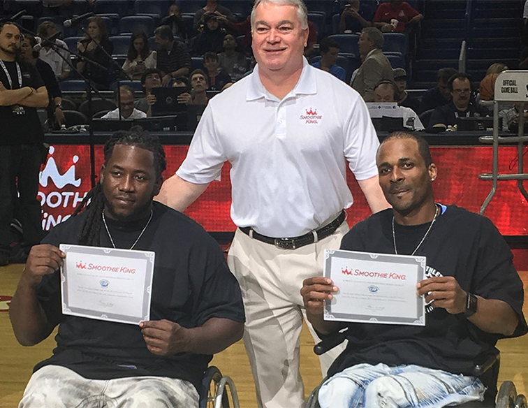Smoothie King recognizes Challenged Athletes Foundation