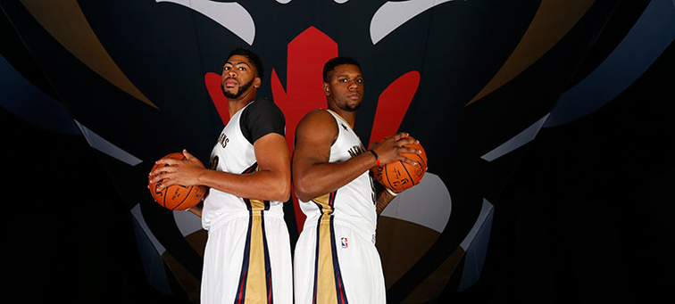 Anthony Davis and Terrence Jones make an intriguing duo in the frontcourt