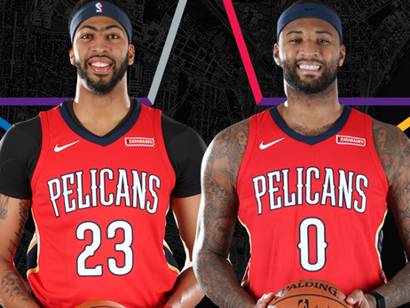 Pelicans Anthony Davis & DeMarcus Cousins Named Starters in 2018 NBA All-Star Game