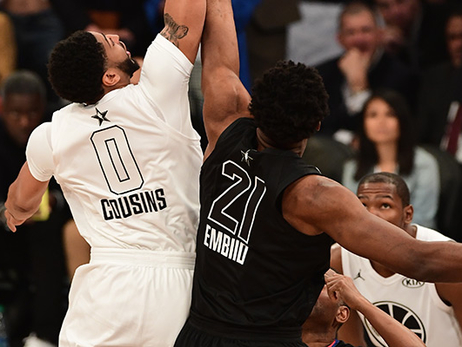 Anthony Davis wears No. 0 to start All-Star Game in tribute to Pelicans teammate DeMarcus Cousins