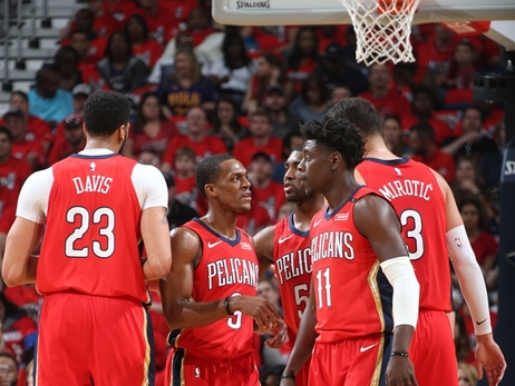 Playoffs Round 1 - Game 4: Pelicans vs. Trail Blazers 4-21-18