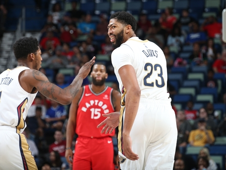 Preseason Game 5: Pelicans vs. Raptors 10-11-18