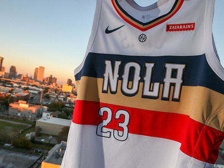 New Orleans Pelicans unveil Nike NBA Earned Edition uniform