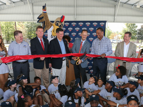 Atkins Park Ribbon Cutting