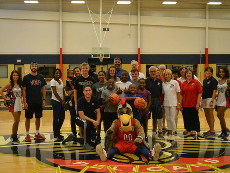 Pelicans Host 3-Point Club of New Orleans