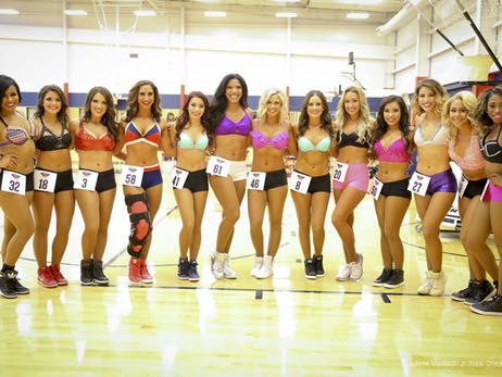Best of Pelicans Dance Team Auditions 2017