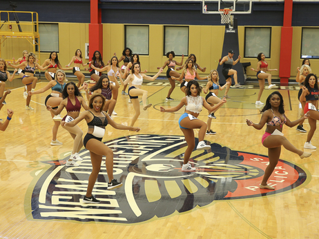 2018 Pelicans Dance Team auditions Round 1