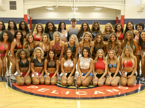 Meet your 2018-19 Pelicans Dance Team Finalists