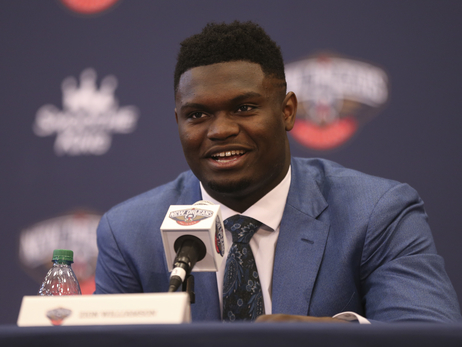 Zion Williamson Introductory Press Conference June 21, 2019