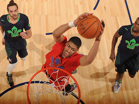 Anthony Davis remains sixth in West frontcourt All-Star vote
