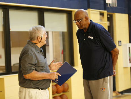 Pelicans Host Coaches Clinic with Bob Lanier