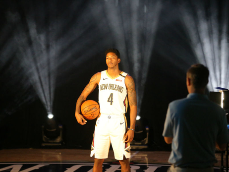 Behind the Scenes: Pelicans Media Day 2018