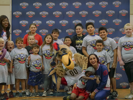 New Orleans Pelicans 3 Point Club Basketball Clinic