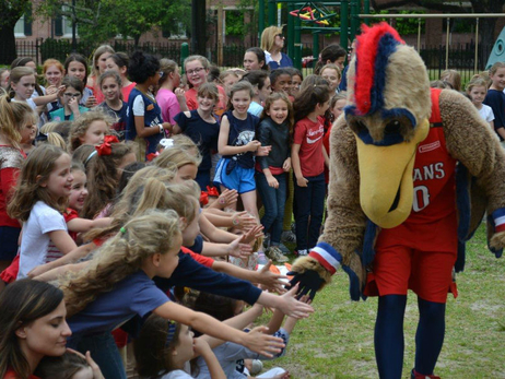 Pelicans 'Do It Bigger' Pep Rallies