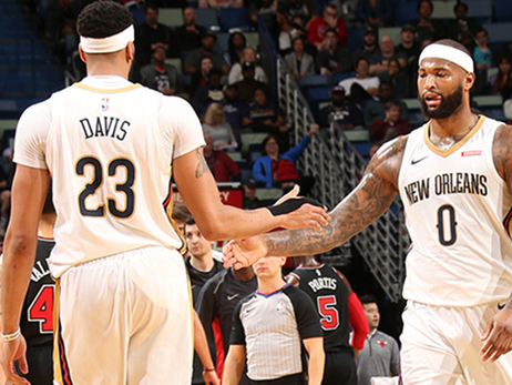 Anthony Davis, DeMarcus Cousins both picked by captain LeBron James, will remain teammates in All-Star Game