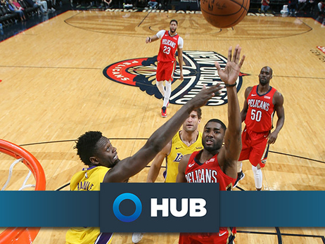 Behind the Numbers presented by HUB International: Lakers at Pelicans (3/22/18)