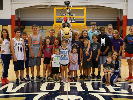 The 3-Point Club of New Orleans Hosted Their Annual Camp for Kids