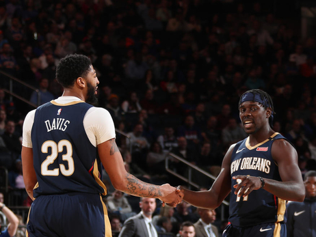 Game 19: Pelicans at Knicks 11/23/18