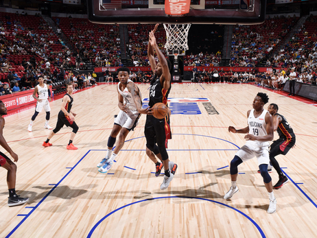 Pelicans-Heat Game Action Photos | Summer League 2019 - Quarterfinals - 7/13/19