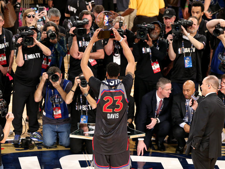 Coach Steve Kerr, West teammates wanted Anthony Davis to win MVP