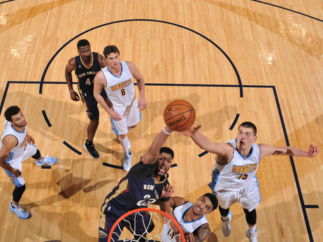 In the Game: Pelicans at Nuggets 4/7/17