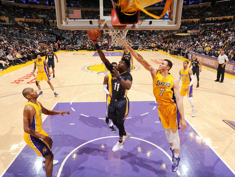 In the Game: Pelicans at Lakers 4/11/17