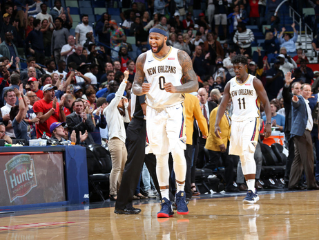 Top 50 DeMarcus Cousins Photos from the Pelicans 2017-18 Season