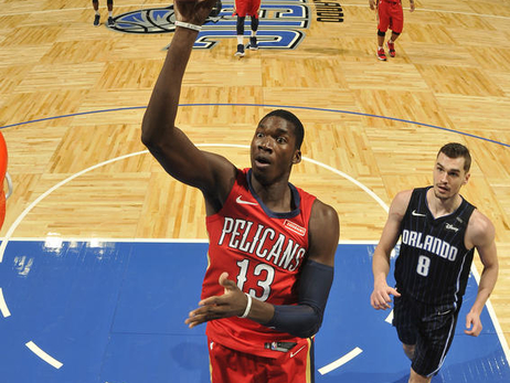 Top 35 Cheick Diallo Photos from the Pelicans 2017-18 Season