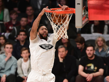 NBA All-Star 2018: Anthony Davis in Action