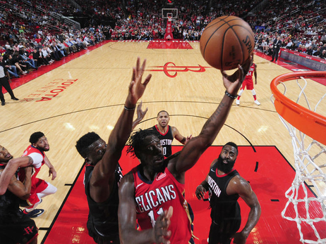Game 74: Pelicans at Rockets 3-24-18