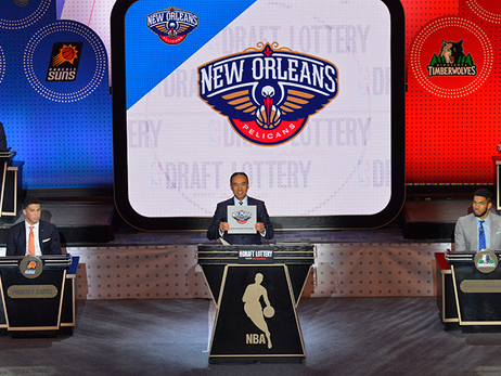 Pelicans at the 2016 NBA Lottery