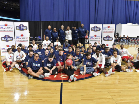 NBA Cares Special Olympics Unified Sports Game