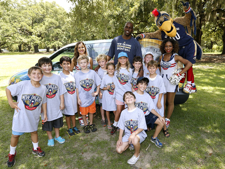 Wetlands Wildlife Express Unveiling with Quincy Pondexter