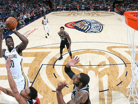 Julius Randle brings punishing style, major production to Pelicans sixth-man role