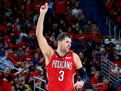 Red-hot Nikola Mirotic spearheads Pelicans' superb opening week