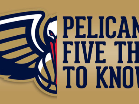 Five things to know about the Pelicans on Sept. 26, 2016